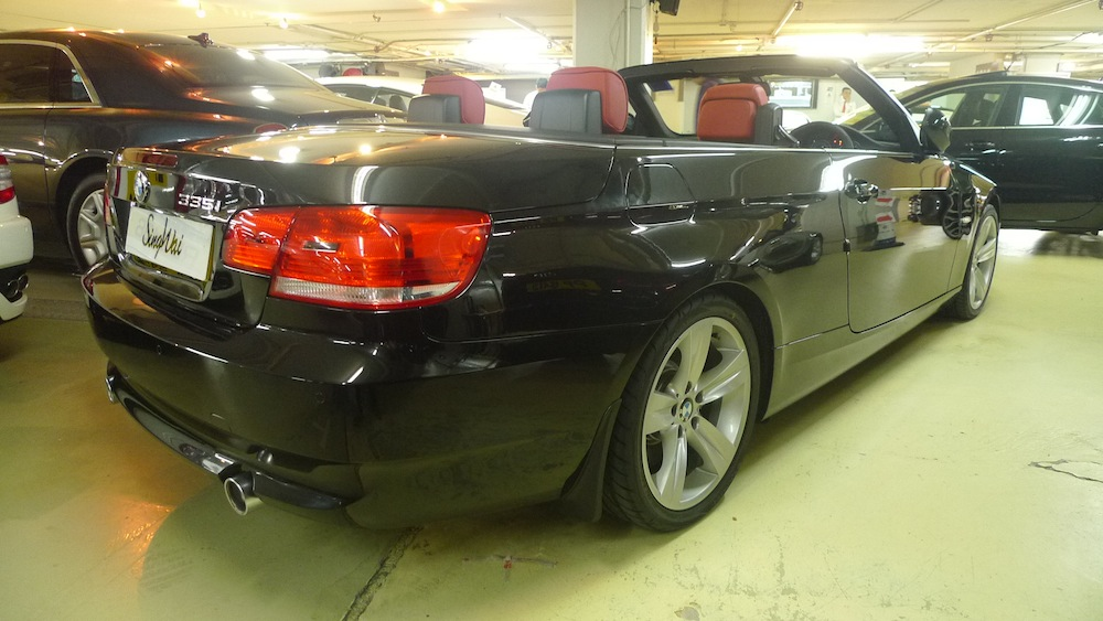 BMW 335i Twin Top DCT 2009