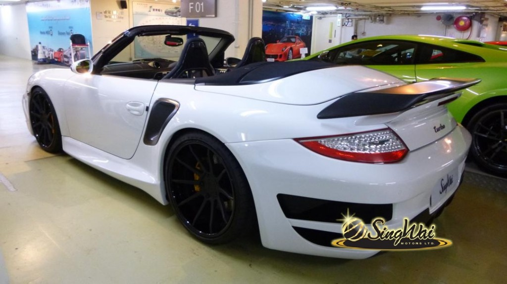 2008 Porsche 997 Turbo 911 Cab