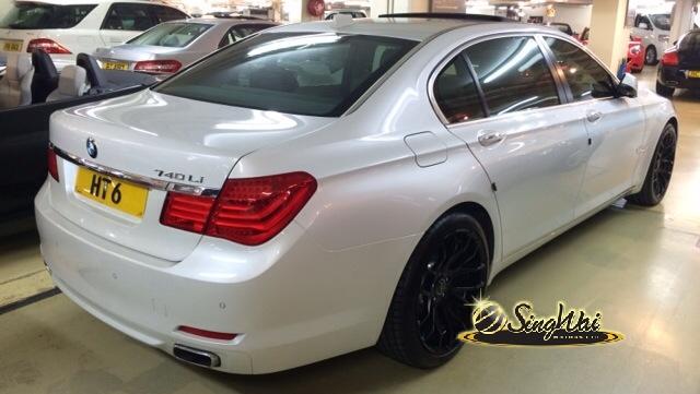 2010/11 BMW 740LIA Vantage