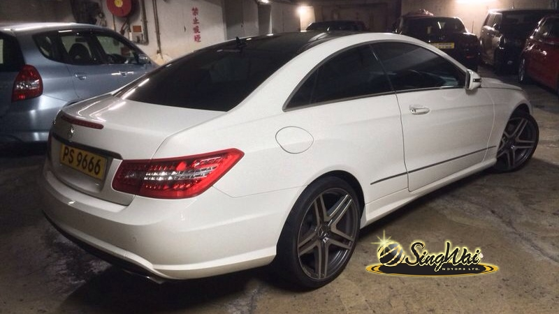 09 M. Benz E500 Coupe AMG Edition