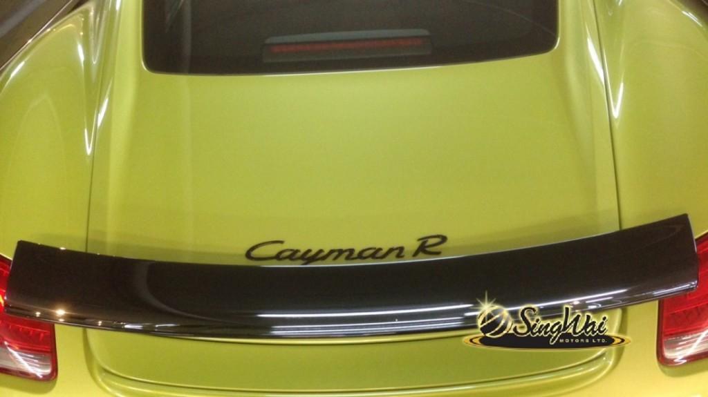 2012 Porsche Cayman R 3.4